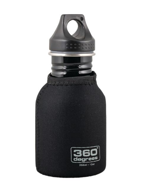 360° degrees Stainless Drink Bottle - 350ml noir